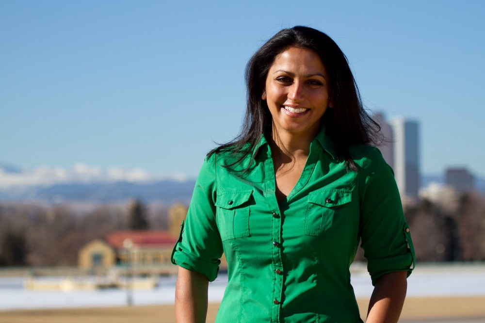 This is a photo of Saloni Doshi, CEO of EcoEnclose